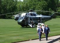 RESMİ KARŞILAMA - ABD Başkanı Trump, Kraliyet Sarayı'nda Resmi Törenle Karşılandı