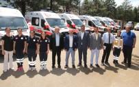 Amasya'nın Sağlık Filosuna 11 Yeni Araç