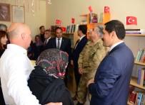 Ardahan'da 'Şehit Öğretmenler Anısına Bir Kitapta Sen Ver' Projesi Kapsamında Kütüphane Oluşturuldu