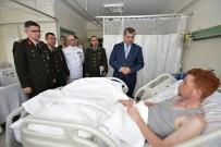 GÜLHANE - Bakanlık Bayramda Hastanede Tedavi Gören Gazileri Unutmadı