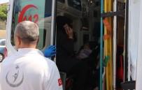 D-100'De İki Otomobil Çarpıştı Açıklaması 1'İ Çocuk 3 Yaralı