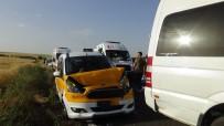 Diyarbakır-Hani Karayolunda Zincirleme Kaza Açıklaması 1'İ Ağır 6 Yaralı