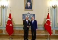 FIRAT KALKANI - İçişleri Bakanı Soylu, AB Komiseri Avramopoulos'u Kabul Etti