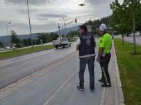 Drone destekli 'Güvenli Bayram' denetimi
