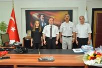 YAKUP YıLDıZ - Türkiye Şampiyonundan Milli Eğitim Müdürüne Ziyaret