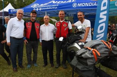 Başkan Kayda, Motosiklet Festivaline Katıldı