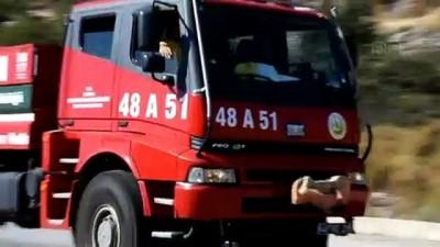 Bodrum'da Arazi Yangını