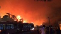 Dikili'deki Yangının Ardından Bir Yangın Da Özdere'de