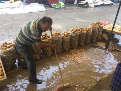 Fatsa'da Sağanak Yağış