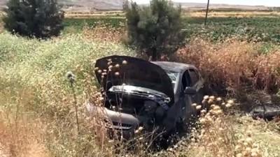 Kilis'te Otomobil Şarampole Devrildi Açıklaması 3 Yaralı