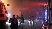 Kilis'te Tekstil Atölyesinde Yangın