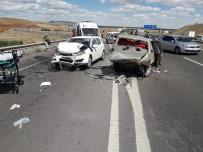 Kırıkkale'de Feci Kaza Açıklaması 1 Ölü, 5 Yaralı