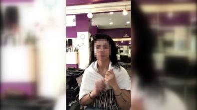 Önce Saçını Yaptırdı Sonra Ücret Ödemeden Kayıplara Karıştı