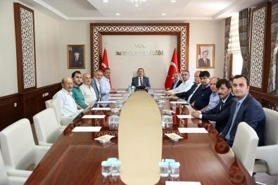 OSB Müteşebbis Heyet Toplantısı Vali Pehlivan Başkanlığında Gerçekleştirildi