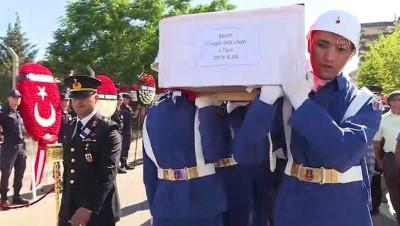 Şehit Teğmen Son Yolculuğuna Uğurlandı