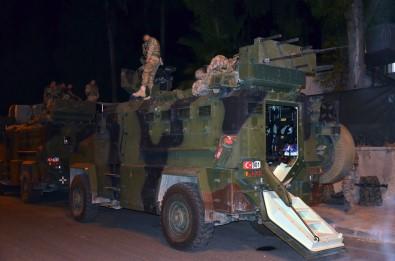 Suriye sınırındaki birliklere askeri sevkiyat