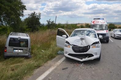 Tekirdağ'da Trafik Kazası Açıklaması 9 Yaralı