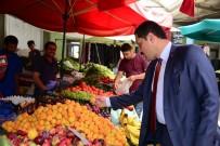MUSTAFA MASATLı - Vali Masatlı Pazar Esnafını Ziyaret Ederek Sorunları Dinledi
