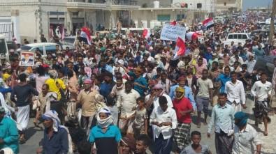 Yemenliler BAE İşgaline Karşı Sokakta