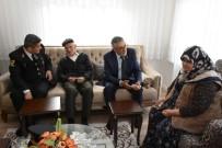 ŞEHİT POLİS - Başkan Bozkurt Şehit Ailelerini Ziyaret Etti