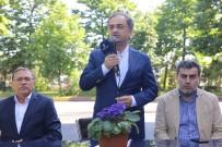 AREFE GÜNÜ - Hayri Baraçlı, Mesai Başındaki Çalışanları Ziyaret Ederek Bayramlarını Kutladı