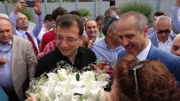İmamoğlu'na Memleketi Trabzon'da Coşkulu Karşılama