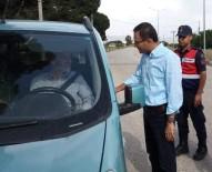 Kaymakam Uçgun Trafik Denetimine Katıldı