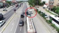 Kural Tanımaz Sürücüler, Havadan Yapılan Denetimlerden Kaçamadı