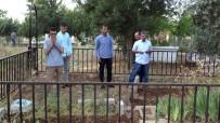 Siverek'te Bayram Günü Vatandaşlar Mezarlıklara Akın Etti