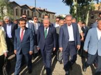 TBMM Başkanı Şentop, Hz. Süleyman Camii'ni Ziyaret Etti