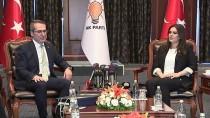 ANAVATAN PARTISI - AK Parti'ye Çiçekle Gelen Tek Parti İYİ Parti Oldu