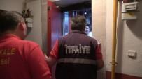 Asansörün Kapısını 2 Saniyede Açarak Genci Kurtardı