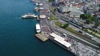 HEYBELIADA - Bayramının İkinci Gününde Vatandaşlar Boğaz'a Akın Etti