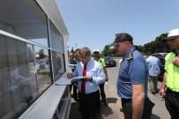 AŞIRI HIZ - Emniyet Genel Müdürü Uzunkaya, Fatsa'da Uygulamaları Denetledi