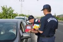 TRAFİK KURALLARI - Jandarma'dan 'Uçangöz'le Trafik Denetimi