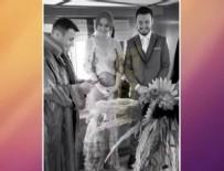 Selin İmer - Mustafa Ceceli ve Selin İmer'in düğününden ilk fotoğraf