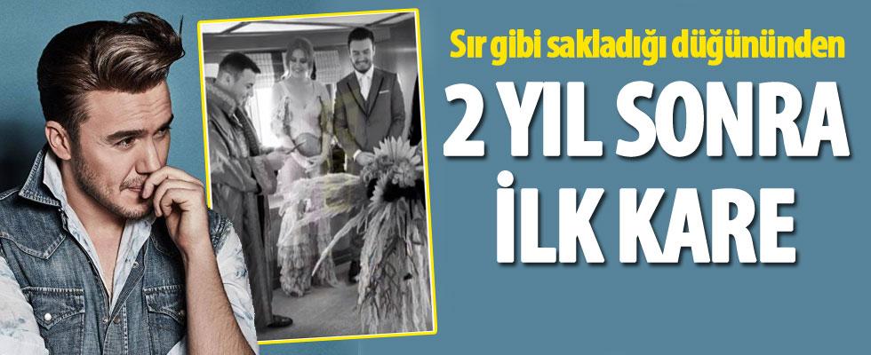 Mustafa Ceceli ve Selin İmer'in düğününden ilk fotoğraf