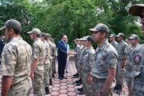 PİYADE ALBAY - Vali Canalp 'Hudut Kartalları' İle Bayramlaştı