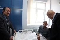 Vali Ve Başkandan, Hastalara Bayram Ziyareti