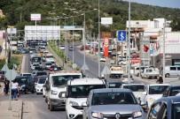 ORTAKENT - 170 Bin Nüfuslu Bodrum'a Bayramda 150 Bin Araç Giriş Yaptı