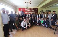 Bayburt Belediye Başkanı Pekmezci, MHP'de Düzenlenen Bayramlaşma Programına Katıldı