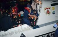 İzmir'de 21'İ Çocuk 35 Kaçak Göçmen Yakalandı