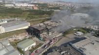 Kocaeli'de 5 İşçinin Öldüğü Fabrika Yangını Tamamen Söndürüldü