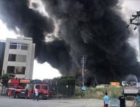 Kocaeli'de fabrika yangını: 4 kişinin cesedine ulaşıldı