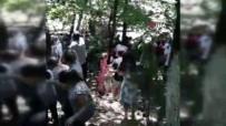 Saklıgöl'de Çardağın Çökmesiyle Vatandaşlar Göle Düştü