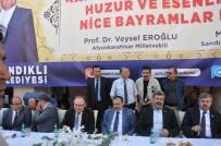 Sandıklı'da Cumhurbaşkanlığı Irak Özel Temsilcisi Eroğlu'nun Katılımıyla Bayramlaşma Gerçekleşti