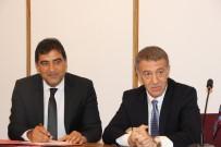 ALI YıLMAZ - Trabzonspor Ünal Karaman İle 2 Yıllık Sözleşme İmzaladı