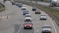 43 İlin Geçiş Güzergahında Trafik Yoğunluğu Yeniden Başladı