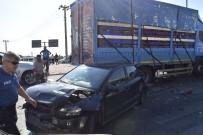 Burdur' Da Zincirleme Trafik Kazası Açıklaması 5 Yaralı