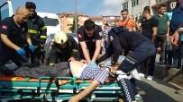 KALP MASAJI - Direksiyon Başında Kalp Krizi Geçiren Sürücü Kazada Hayatını Kaybetti